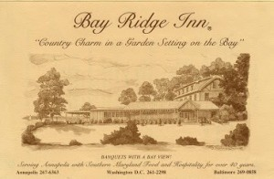 Front of the Bay Ridge Inn Menu: image by Kyle Foss.