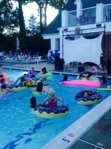 Snap from our Dive-In Movie Night Sign Up Party 2015